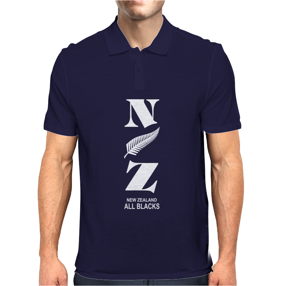 New Zeland Rugby Sport Mens Polo