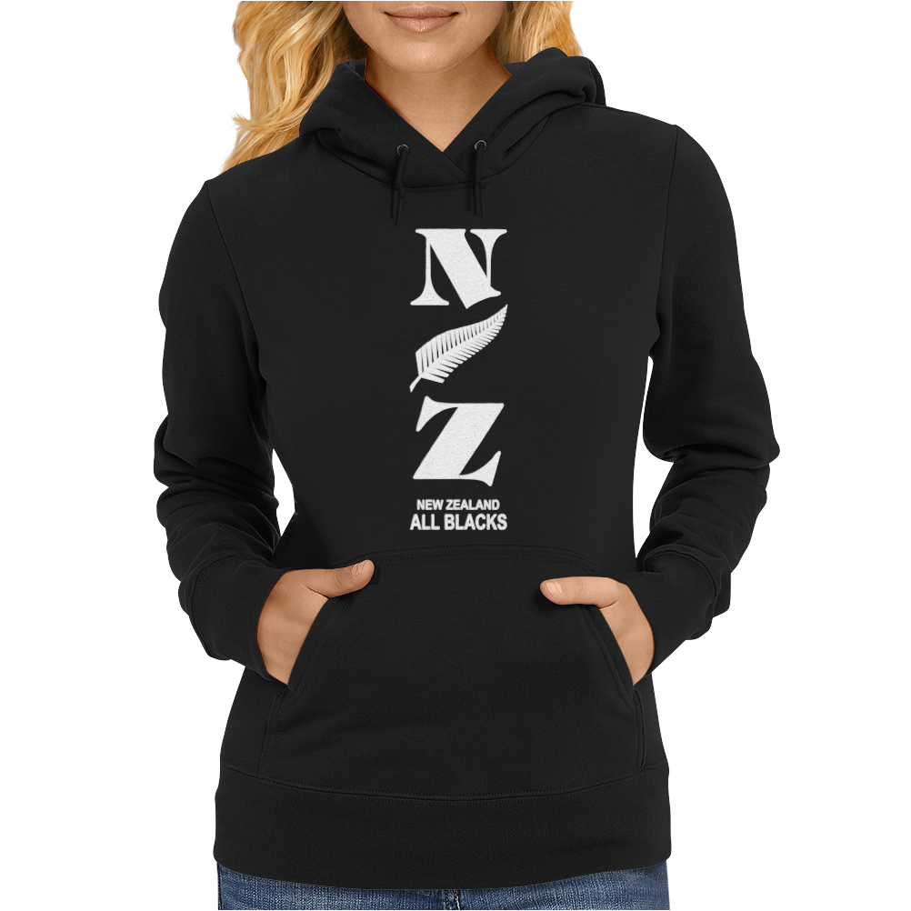 New Zeland Rugby Sport Womens Hoodie
