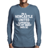Newcastle United Supporter Mens Long Sleeve T-Shirt
