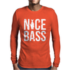 Nice Bass Fishing Mens Long Sleeve T-Shirt