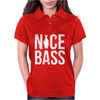 Nice Bass Fishing Womens Polo