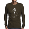Nick Cave Microphone Mens Long Sleeve T-Shirt