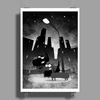 Night city crawlers Poster Print (Portrait)