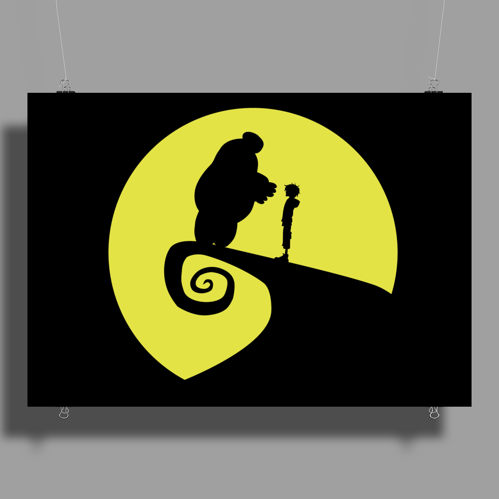 Nightmare Before Big Hero 6 Poster Print (Landscape)