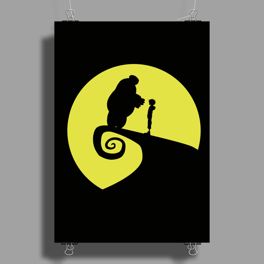 Nightmare Before Big Hero 6 Poster Print (Portrait)