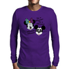 Nightmare before Christmas Mickey & Minnie as Jack & Sally Mens Long Sleeve T-Shirt