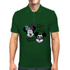 Nightmare before Christmas Mickey & Minnie as Jack & Sally Mens Polo