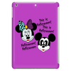Nightmare before Christmas Mickey & Minnie as Jack & Sally Tablet (vertical)