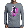 Nightmare Fluttershy Mens Long Sleeve T-Shirt