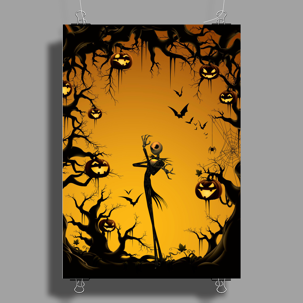 Nightmare Jack Skellington Poster Print (Portrait)