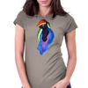 Nightmare Rainbow Dash Womens Fitted T-Shirt