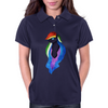 Nightmare Rainbow Dash Womens Polo