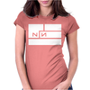 Nine Inch Nails Womens Fitted T-Shirt