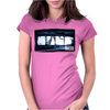 Nine Inch Nails X-Ray Womens Fitted T-Shirt