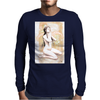 Ninfa blanca Mens Long Sleeve T-Shirt