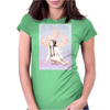 Ninfa de invierno Womens Fitted T-Shirt
