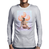 Ninfa del jardin Mens Long Sleeve T-Shirt
