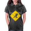 Ninja Crossing Sign Womens Polo