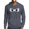 Ninja Mask Eyes Martial Arts Novelty Mens Hoodie