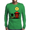 ninja Mens Long Sleeve T-Shirt