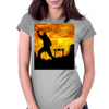 Ninja Practice  Womens Fitted T-Shirt