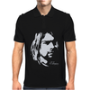 Nirvana Kurt Cobain Mens Polo