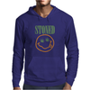 NIRVANA STONED SMILEY FACE MARIJUANA Mens Hoodie