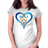Nisekoi - Chitoge Love Womens Fitted T-Shirt
