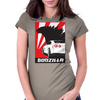 Nissan GTR Godzilla Womens Fitted T-Shirt