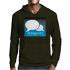 No Comment Mens Hoodie