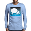 No Comment Mens Long Sleeve T-Shirt