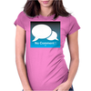 No Comment Womens Fitted T-Shirt