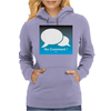 No Comment Womens Hoodie