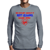 No Doubt About It Best Grandma Hands Down Mens Long Sleeve T-Shirt