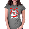 No Flex Zone Arm Gym Workout Womens Fitted T-Shirt