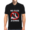 No Flex Zone. Mens Polo