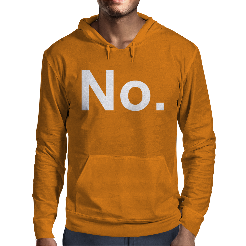 No Funny New Mens Hoodie