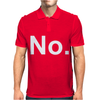 No Funny New Mens Polo