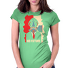 No Future Womens Fitted T-Shirt
