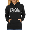 No Job No Money No Car I Have A Band Womens Hoodie