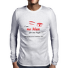 No man for one night Mens Long Sleeve T-Shirt