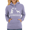 No One Understands Me Like My Schnoodle Womens Hoodie