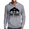 No Pain No Gain Penguin Mens Hoodie