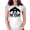 No Pain No Gain Penguin Womens Fitted T-Shirt