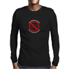 No Photos Please Funny Humor Geek Mens Long Sleeve T-Shirt