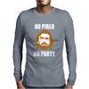 No Pirlo No Party Mens Long Sleeve T-Shirt