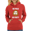 No Pirlo No Party Womens Hoodie