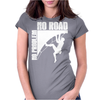 No Problem No Road Rock Climbing Womens Fitted T-Shirt