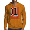 No001 My The Dukes of Hazard minimal movie car poster Mens Hoodie