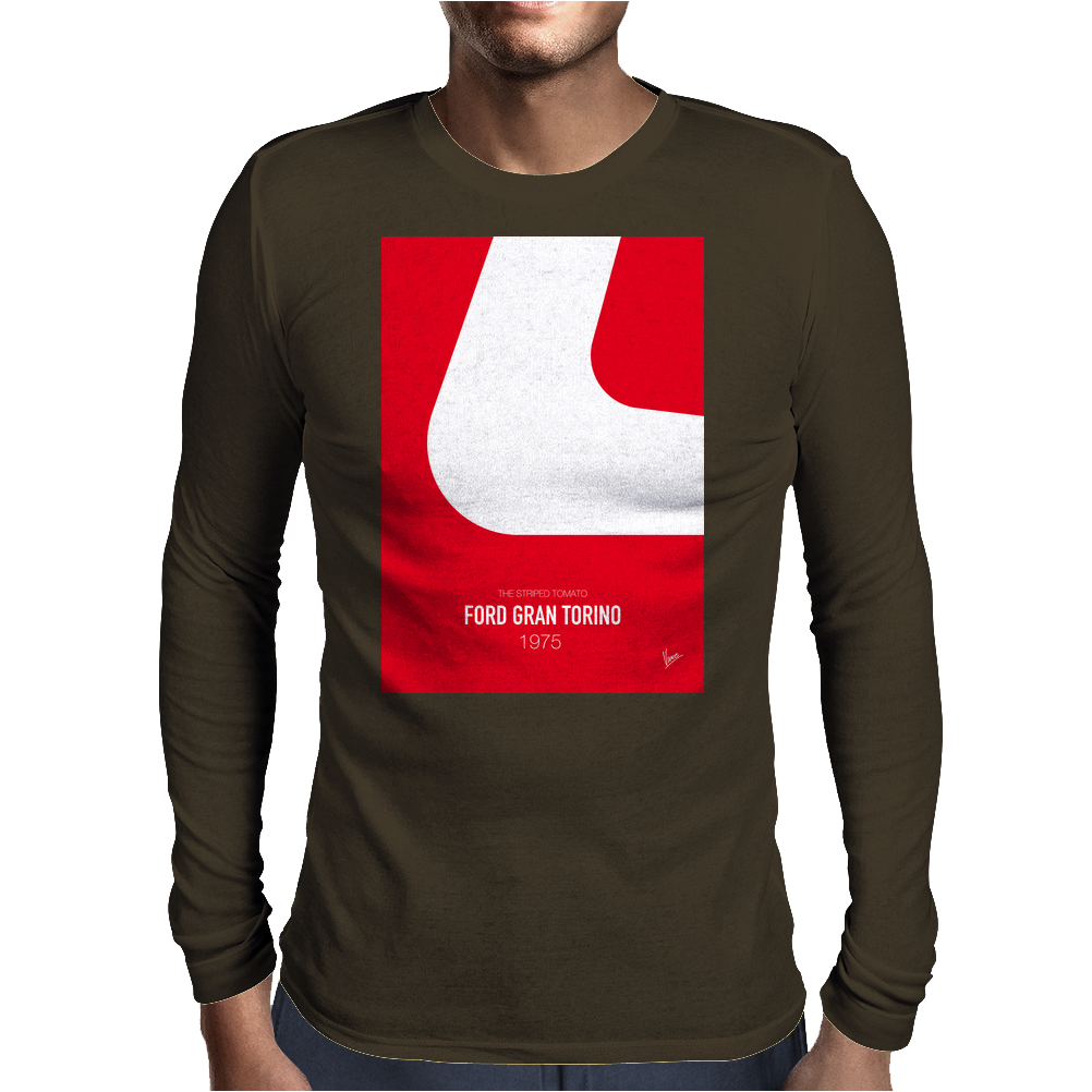 No003 My starsky and hutch minimal movie car poster Mens Long Sleeve T-Shirt